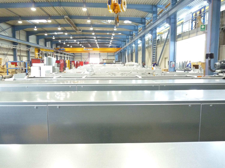 Rosink-Werkstätten: Con los equipamientos más modernos y personal experto, Rosink puede cumplir con los requisitos específicos del cliente y de la ubicación.