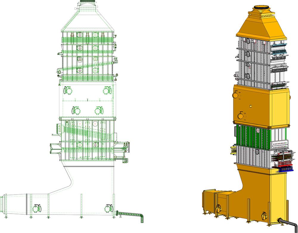 Rosink-Werkstätten: Intercambiador de calor